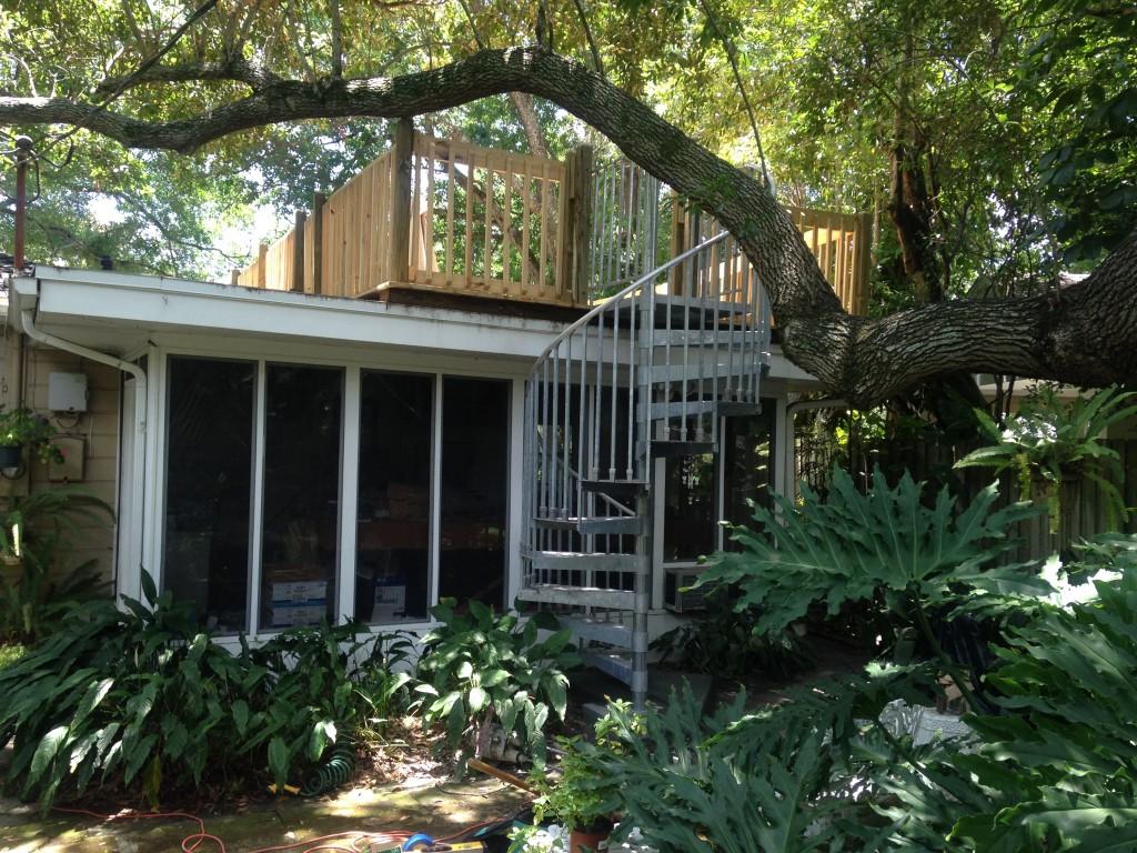 Garage Roof Deck Installation Motts